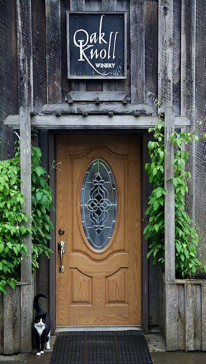 Oak Knoll Entrance