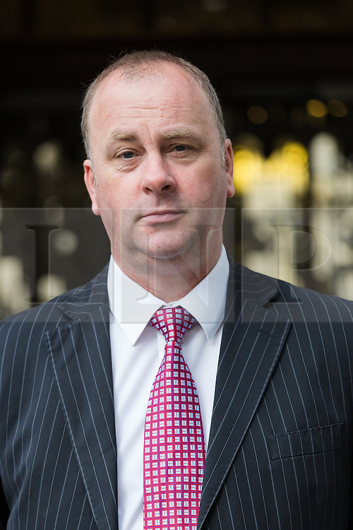 © Licensed to London News Pictures. 23/07/2015. London, UK.Chip shop owner, BARRY BEAVIS from Chelmsford in Essex, arrives at the Supreme Court in London today. Beavis is challenging a Court of Appeal ruling made in April, where judges found that a parking fine of £85 imposed by the private car park company, ParkingEye Limited on BARRY BEAVIS for overstaying his allocated parking time at Riverside Retail Park in Chelmsford was not excessive and that the penalty charge was enforceable. Photo credit : Vickie Flores/LNP