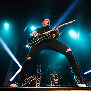 Ryan Key of Yellowcard at The Aztec Theatre in San Antonio Texas on their Final Tour 2016