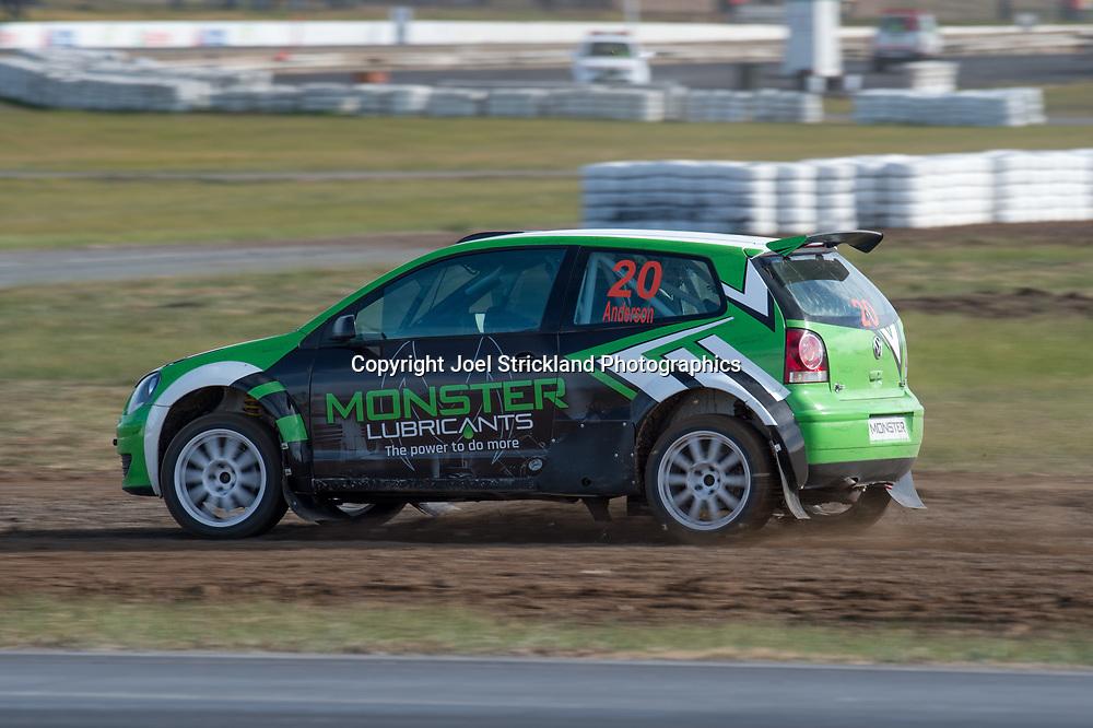 Scott Anderson - VW Polo - Rallycross Australia - Winton Raceway - 16th July 2017