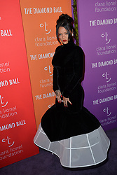 September 12, 2019, New York, NY, USA: September 12, 2019  New York City..Rihanna attending the 5th annual Diamond Ball benefit gala at Cipriani Wall Street on September 12, 2019 in New York City. (Credit Image: © Kristin Callahan/Ace Pictures via ZUMA Press)