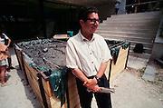 "VENICE, ITALY..June 1997..47th Biennale of Venice.Nordic Pavillion..Mark Dion ""Raiding Neptune's Vault""..(Photo by Heimo Aga)"