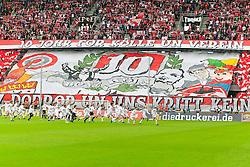 11.09.2011,  Rhein Energie Stadion, Koeln, GER, 1.FBL, 1. FC Koeln vs 1. FC Nürnberg, im Bild.Choreo Boyz Köln für 10 Jahre ..// during the 1.FBL, 1. FC Koeln vs 1. FC Nürnberg on 2011/09/11, Rhein-Energie Stadion, Köln, Germany. EXPA Pictures © 2011, PhotoCredit: EXPA/ nph/  Mueller *** Local Caption ***       ****** out of GER / CRO  / BEL ******