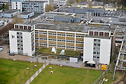Nederland, Nijmegen, 19-11-2014Het gebouw van NovioTechCampus op het terrein van NXP.Health Tech Region is een internationale broedplaats voor R&D, resaearch and developement en productiebedrijven die opereren op het snijvlak van Life Sciences, Health en High Tech. In de regio zijn kennisinstellingen, bedrijven en vele faciliteiten gevestigd. Starters, jonge bedrijven en doorgroeiers geven samen met de kennisinstellingen een innovatieve impuls aan de regio. Interactie tussen onderzoek en bedrijfsleven. Samenwerking met bijvoorbeeld onderzoekers van de Radboud Research Facilities, Radboudumc Technology Centers of het HAN BioCentre. FOTO: FLIP FRANSSEN/ HOLLANDSE HOOGTE