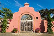 Beautiful entrance to the Villa Camilla Hotel in Pedasi, Panama