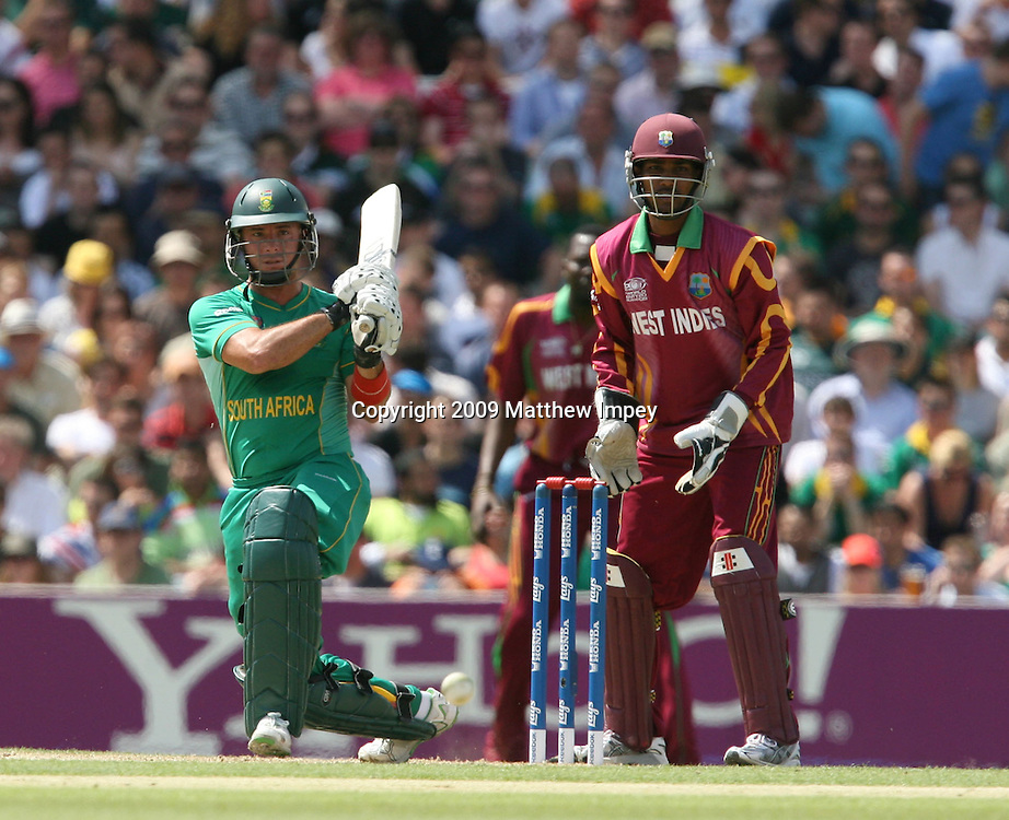 Herschelle Gibbs of South Africa batting. West Indies v South Africa, World T20, Cricket, The Oval, 13/06/2009 © Matthew Impey/Wiredphotos.co.uk. tel: 07789 130 347 email: matt@wiredphotos.co.uk