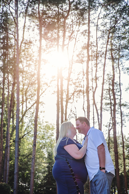 Amy & Dave's Fall Forest Engagement