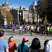 NYTRUN - NOV. 6, 2016 - NEW YORK - Runners head south, into Central Park at E 90t Street, as they participate in the 2016 TCS New York City Marathon on Sunday afteroon. NYTCREDIT:  Karsten Moran for The New York Times