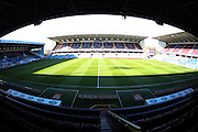 Empty group ahead of the Sky Bet Championship match between Burnley and Middlesbrough at Turf Moor, Burnley, England on 19 April 2016. Photo by Simon Brady.