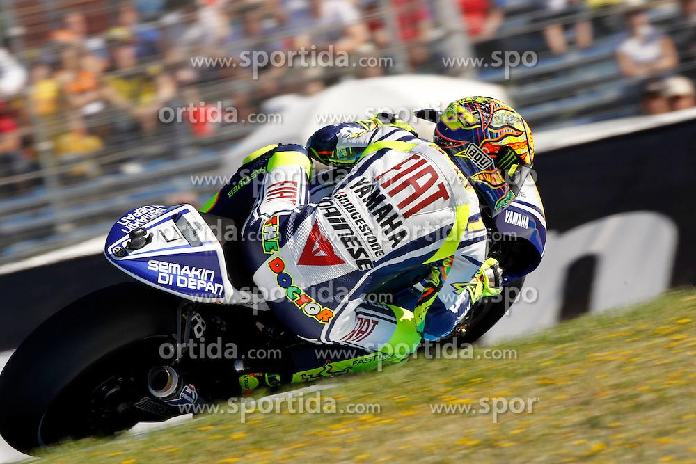 01.05.2010, Motomondiale, Jerez de la Frontera, ESP, MotoGP, Race, im Bild Valentino Rossi - Fiat Yamaha team. EXPA Pictures © 2010, PhotoCredit: EXPA/ InsideFoto / SPORTIDA PHOTO AGENCY