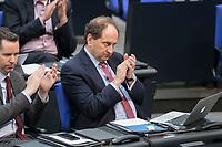 14 FEB 2019, BERLIN/GERMANY:<br /> Alexander Graf Lambsdorff, MdB, FDP, Bundestagsdebatte, Plenum, Deutscher Bundestag<br /> IMAGE: 20190214-01-084<br /> KEYWORDS: Bundestag, Debatte