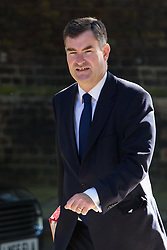 Downing Street, London, July 19th 2016. Chief Secretary to the Treasury David Gauke arrives at the first full cabinet meeting since Prime Minister Theresa May took office.