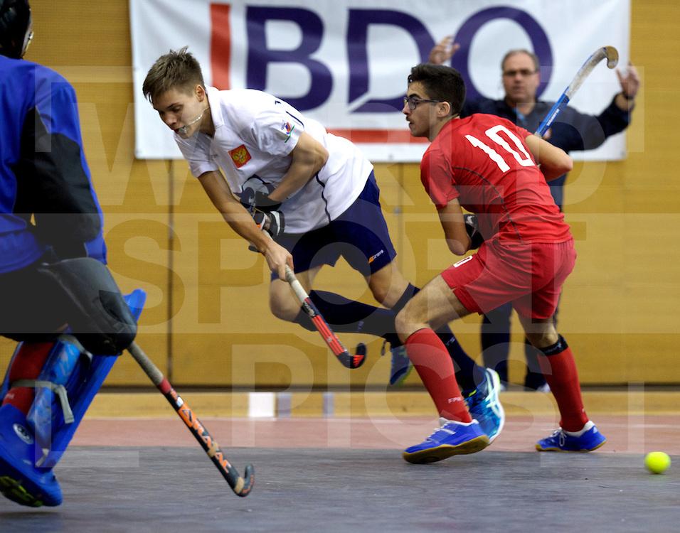 2017 EuroHockey Indoor Junior Championship (M)<br /> 12 Portugal - Russia<br /> Foto: <br /> FFU PRESS AGENCY COPYRIGHT FRANK UIJLENBROEK