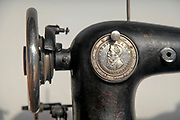 Old sewing machine Original Victoria by Fabrik marke,