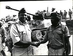 Jan. 01, 1971 - Gen. Idi Amin the new Head of State in Uganda. Credit: Camerapix. (Credit Image: © Keystone Press Agency/Keystone USA via ZUMAPRESS.com)