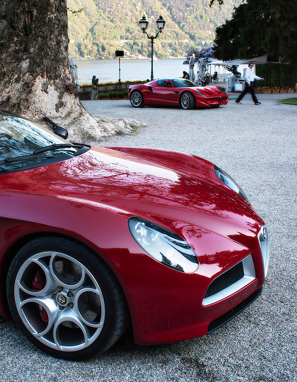Alfa Romeo 8C Spider Concept by Cetro Stile and Alfa Romeo Diva concept by Espace Sbarro School of Design