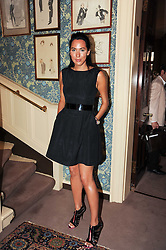 ALEX MEYERS at a party to celebrate the publication of Imperial Bedrooms by Bret Easton Ellis held at Mark's Club, 46 Charles Street, London W1 on 15th July 2010.