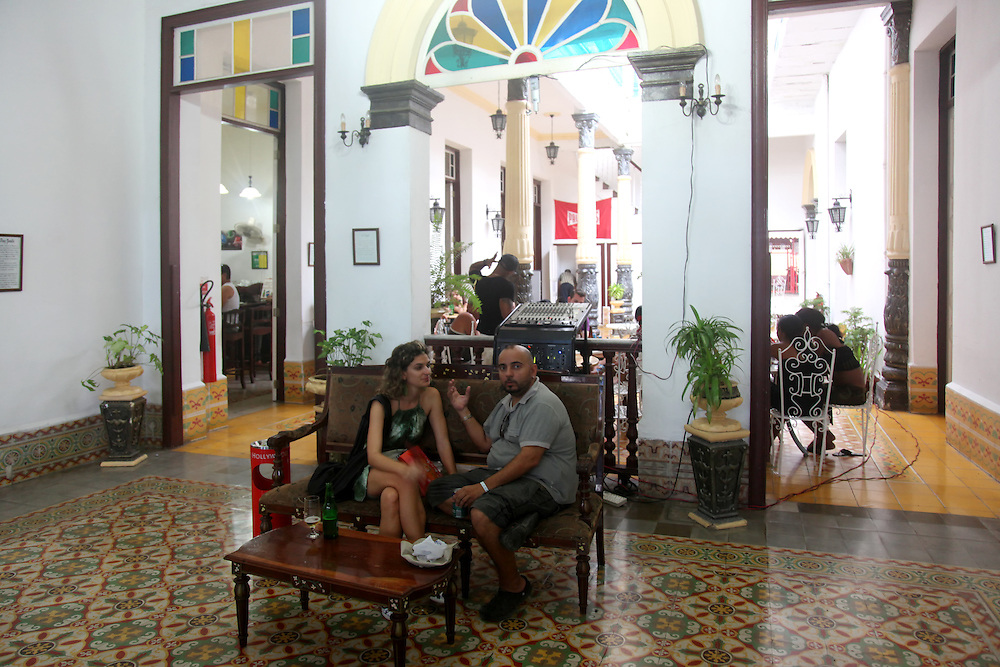 Salón 1720, a restaurant in Holguin, Cuba.