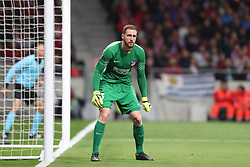 May 3, 2018 - Madrid, Spain - JAN OBLAK of Atletico de Madrid during the UEFA Europa League, semi final, 2nd leg football match between Atletico de Madrid and Arsenal FC on May 3, 2018 at Metropolitano stadium in Madrid, Spain (Credit Image: © Manuel Blondeau via ZUMA Wire)