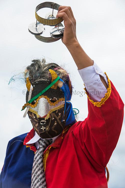 Christmas parade<br /> Riobamba<br /> Cordillera Occidental, Andes<br /> ECUADOR, South America