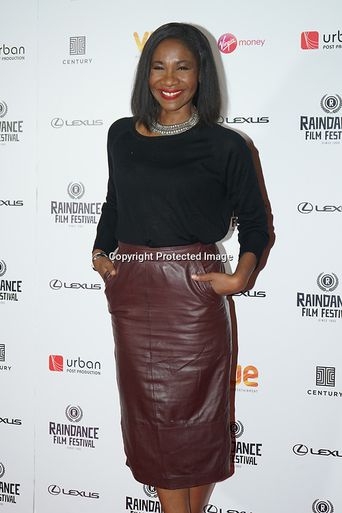 London, England, UK. 21th September 2017. Karen Bryson attend Raindance Film Premiere of 'I'm Not Here', starring J.K. Simmons