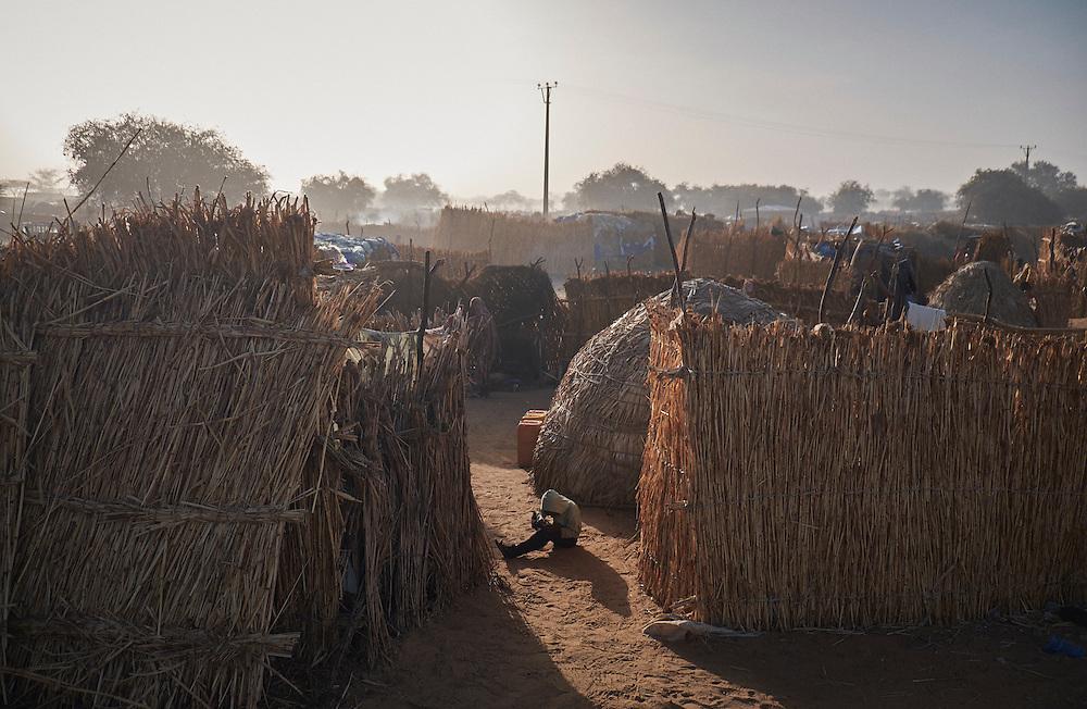 in Diffa, Niger on February 13, 2016.
