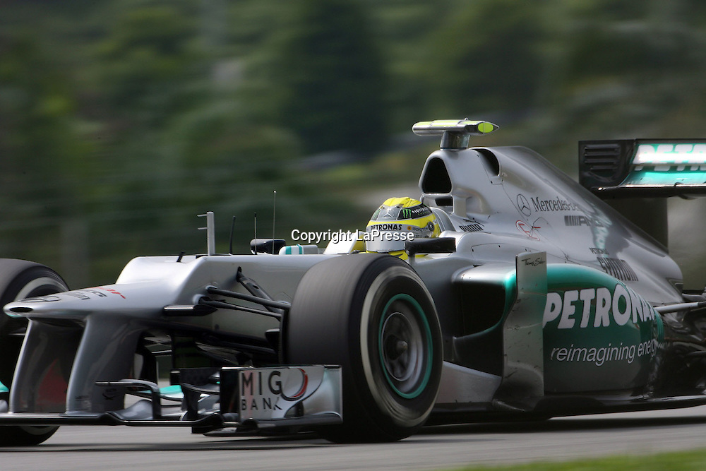 &copy; Photo4 / LaPresse<br /> 23/3/2012 Sepang<br /> Malaysian Grand Prix, Sepang 2012<br /> In the pic: Nico Rosberg (GER),  Mercedes AMG Petronas F1 Team