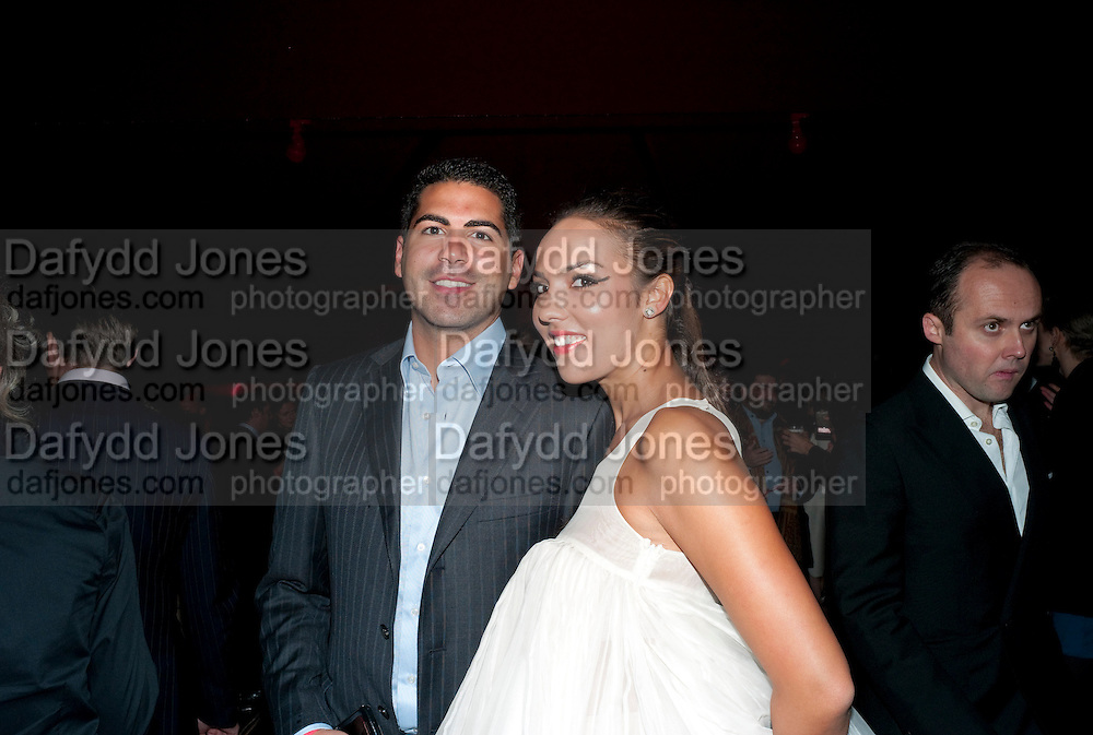 KAMEL JABER; HRH ALIA AL-SENUSSI;, FUTURE CONTEMPORIES ANNUAL PARTY. Serpentine Gallery. London. 23 September 2010. -DO NOT ARCHIVE-© Copyright Photograph by Dafydd Jones. 248 Clapham Rd. London SW9 0PZ. Tel 0207 820 0771. www.dafjones.com.