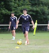 Dundee new boy Julen Etxabeguren - Dundee pre-season training at University grounds, Riverside<br /> <br />  - &copy; David Young - www.davidyoungphoto.co.uk - email: davidyoungphoto@gmail.com