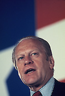 President Gerald Ford campaigning for the presidency in San Antonio Texas in July 1975<br /> Photo by Dennis Brack