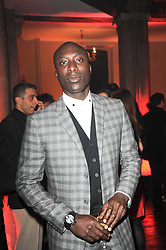 OZWALD BOATENG at a Celebration of 10 Years of IHT Luxury Conferences during the International Herald Tribune Heritage Luxury Conference held at One Mayfair, 13 1/2 North Audley Streer, London on 9th November 2010.