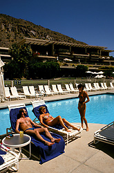 Arizona: Phoenix-Scottsdale Resorts.  Photo #: azscot103.   At Phoenician, Model Rel..Photo copyright Lee Foster, 510/549-2202,  lee@fostertravel.com, www.fostertravel.com