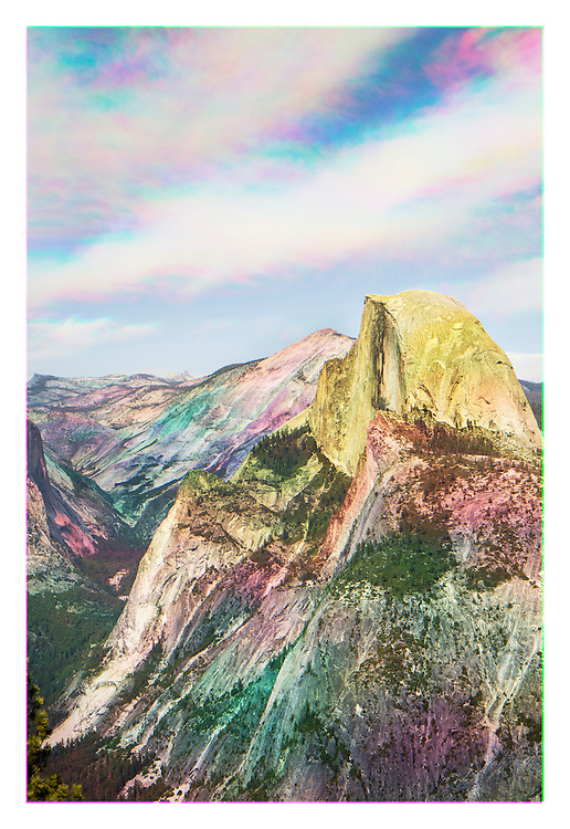 """The Color of Memory: Sublime Gestures"" primarily investigates movement of light and human interaction across sublime landscapes of national parks."