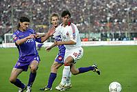 Firenze 20-11-2005<br />Campionato  Serie A Tim 2005-2006<br />Fiorentina Milan<br />nella  foto Tomas Ujfalusi Fiorentina (L), Manuel Rui Costa Milan (R)<br />Foto Snapshot / Graffiti