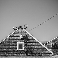 Building Lobster Detail, Perkins Cove - Ogunquit, Maine, 2016