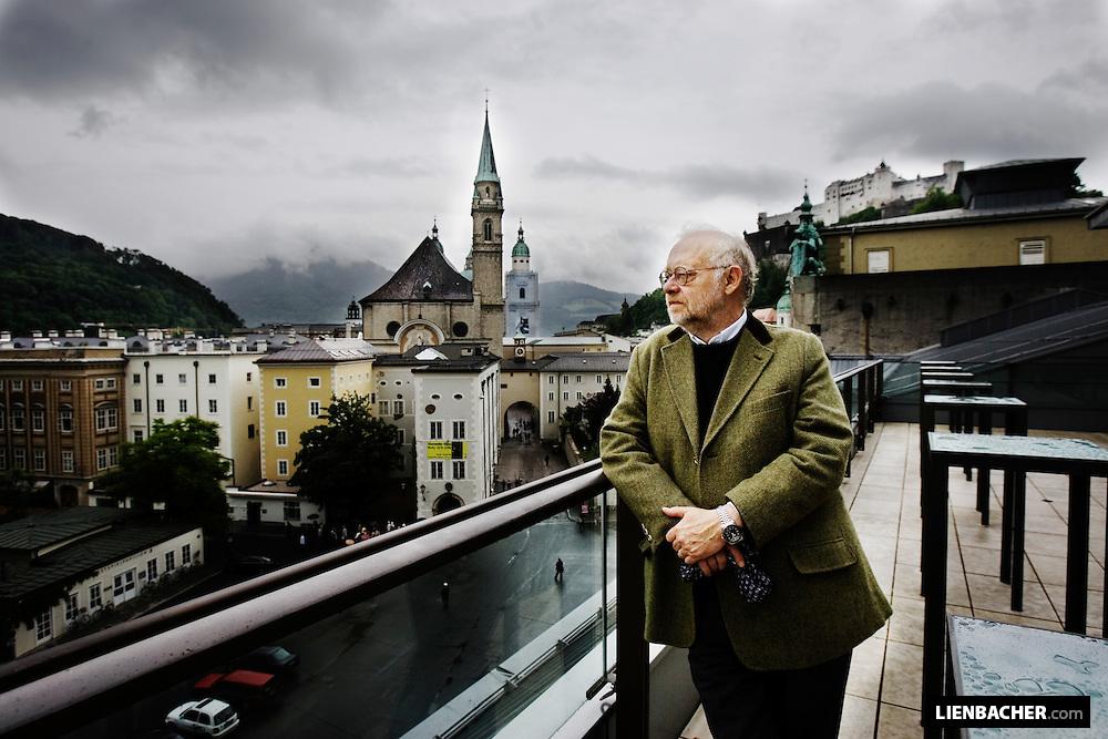 Jürgen Flimm on top of the House for Mozart in Salzburg