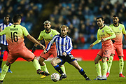 Sheffield Wednesday midfielder Barry Bannan (10) during The FA Cup match between Sheffield Wednesday and Manchester City at Hillsborough, Sheffield, England on 4 March 2020.