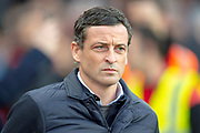 Sunderland AFC manager, Jack Ross before the EFL Sky Bet League 1 match between Sunderland AFC and Luton Town at the Stadium Of Light, Sunderland, England on 12 January 2019.