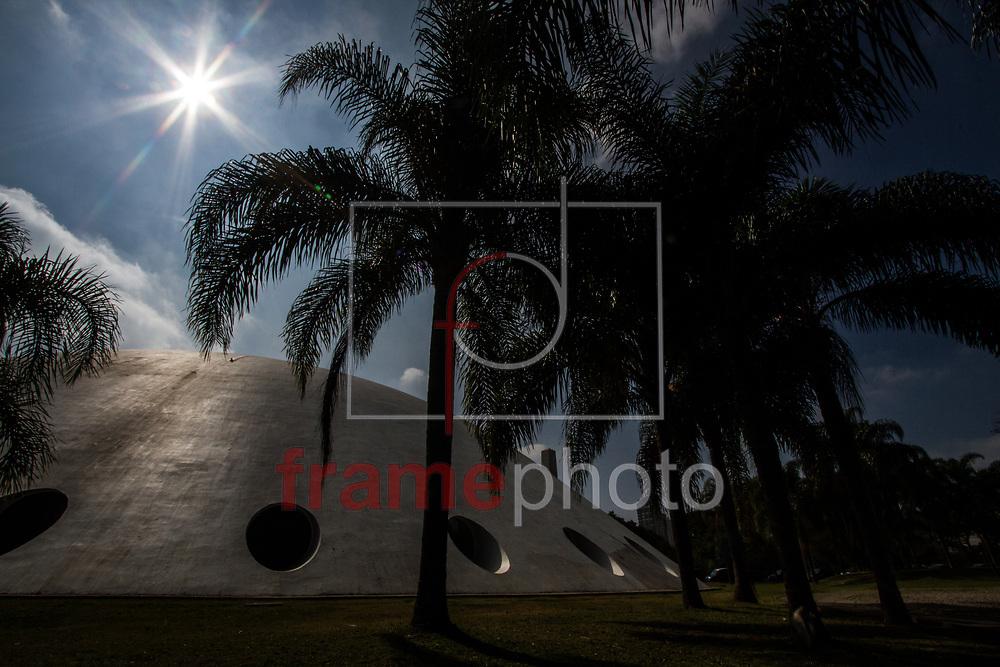São Paulo, 19/08/2014 - Oca no Parque do Ibirapuera; principal área verde da cidade de São Paulo completa 60 anos nesta quinta-feira (21). Foto: Carla Carniel/Frame