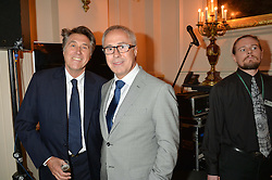 Left to right, BRYAN FERRY and JOHN ZAMMETT at the Audi Ballet Evening at The Royal Opera House, Covent Garden, London on 23rd April 2015.