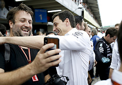 November 11, 2018 - Sao Paulo, Brazil - Motorsports: FIA Formula One World Championship 2018, Grand Prix of Brazil World Championship;2018;Grand Prix;Brazil ,  Toto Wolff (AUT, Mercedes AMG Petronas Formula One Team) (Credit Image: © Hoch Zwei via ZUMA Wire)