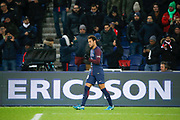 Neymar da Silva Santos Junior - Neymar Jr (PSG) scored a goal and celebrated it during the French Championship Ligue 1 football match between Paris Saint-Germain and ESTAC Troyes on November 29, 2017 at Parc des Princes stadium in Paris, France - Photo Stephane Allaman / ProSportsImages / DPPI