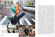 ADAC Reisenmagazin..Story: New York's Subway Musicians....