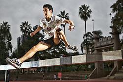 Ioran Fernandes Etchechury, jovem promessa do esporte brasileiro no atletismo para as próximas olimpíadas. FOTO: Jefferson Bernardes/Preview.com