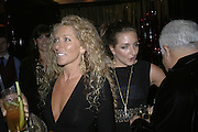 Kelly Hoppen and  Natasha Corrett, Blood Diamond post premiere party in aid of Amnesty. The Dorchester Hotel Bar. London. 23 January 2007.  -DO NOT ARCHIVE-© Copyright Photograph by Dafydd Jones. 248 Clapham Rd. London SW9 0PZ. Tel 0207 820 0771. www.dafjones.com.