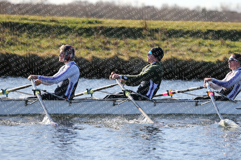 Durham University Boat Club. Championship Quad. BUCS Head 2012.