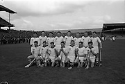 09/05/1965<br /> 05/09/1965<br /> 9 May 1965<br /> National Hurling League Semi-Final: Waterford v Tipperary at Croke Park, Dublin.<br /> Waterford team.