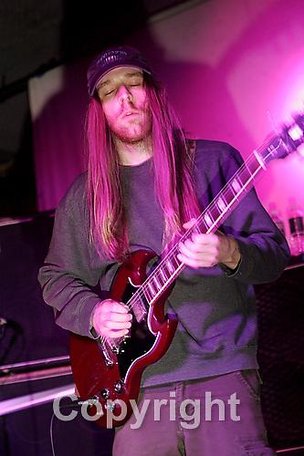 Ocrilim .Guitarist Mick Barr is Ocrilim performing at Studio B on April 4th , 2007.