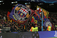 Tifosi Barcelona<br /> Barcelona Fans<br /> Barcelona 24-11-2015 Stadio Camp Nou<br /> Football Calcio Champions League 2015/2016 <br /> Group Stage - Group E Barcelona - As Roma /  Barcellona - As Roma<br /> Foto Luca Pagliaricci / Insidefoto