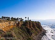 California coastline at Inspiration Point, Rancho Palos Verdes, CA.